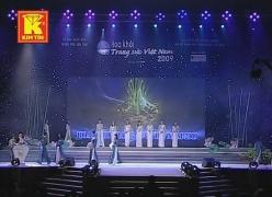Kim Tín tại Hoa khôi NHTS VN