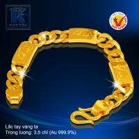 Lắc tay vàng 24K