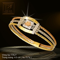 Vòng tay ITALY vàng 18K