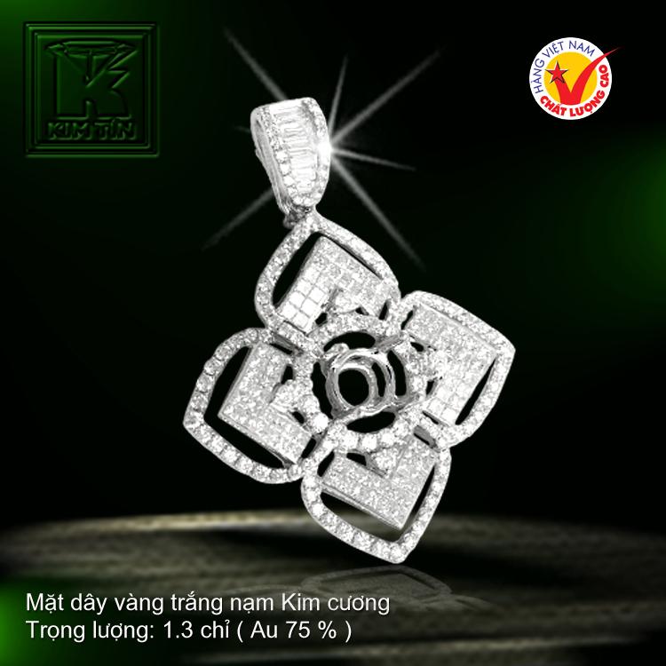 Mặt dây nạm Kim cương